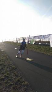 Mój przejazd w zawodach inline alpine